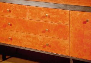 Orange Credenza
