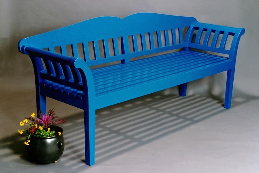 Blue Bench-Accazia