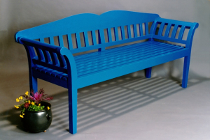 Blue Bench-Accazia