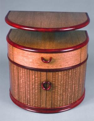 Drum Nightstand