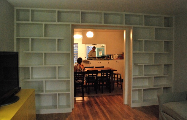 White Pine Shelves