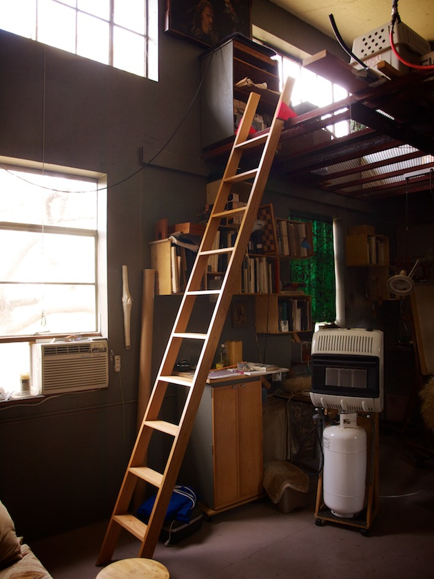 Studio Mezzanine Ladder