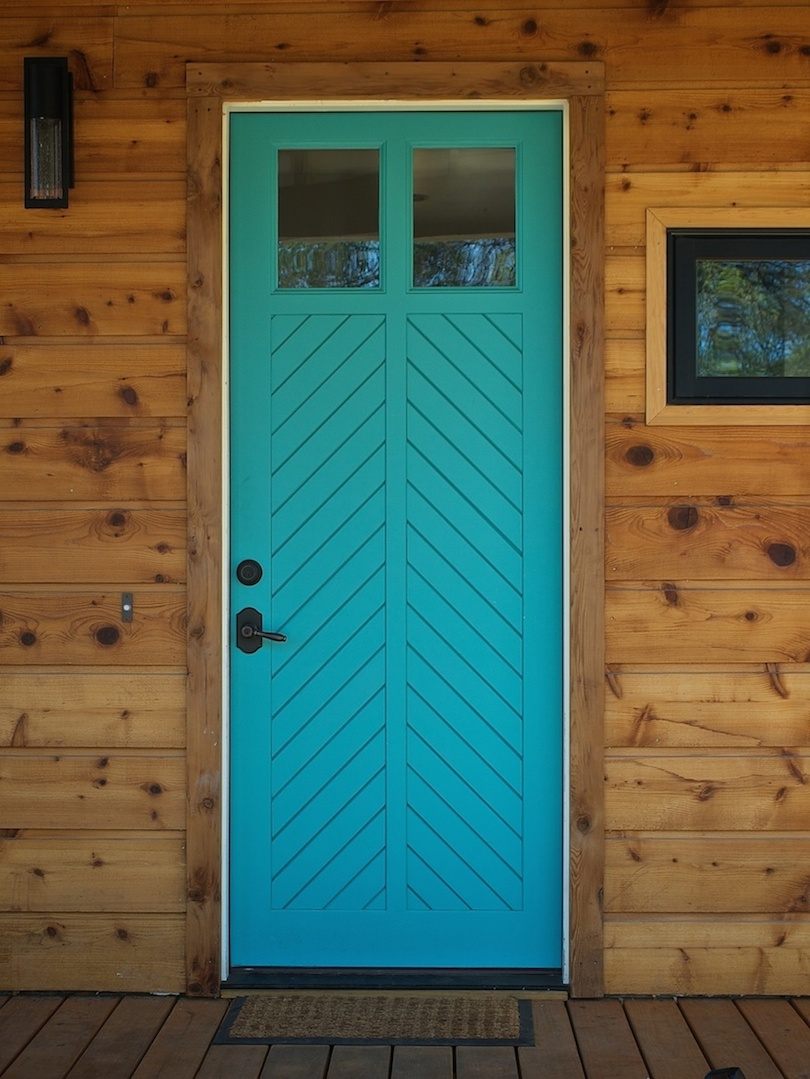 Bethany Entry in Blue